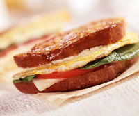 Fast & Easy Dinner: Grilled Egg Sandwich