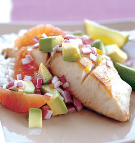 Fast & Easy Dinner: Mahi-Mahi With Blood Orange, Avocado Salsa