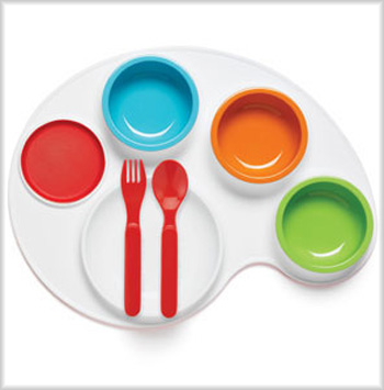 Lil Find: Palette Plate