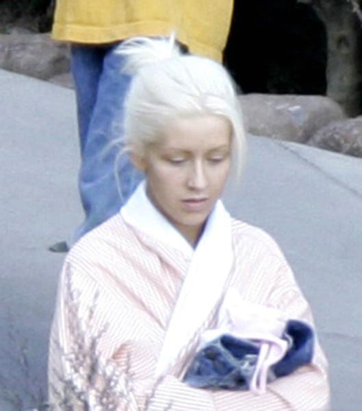 Christina Aguilera Without Make-Up