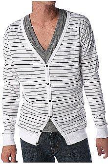 UrbanOutfitters.com > BDG Striped Tee Cardigan