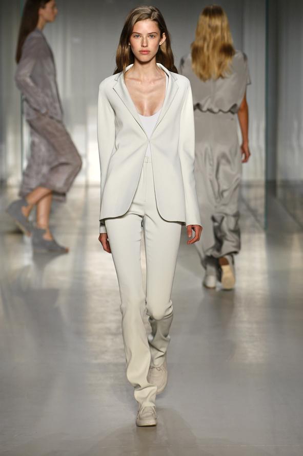 Immaterial: Calvin Klein Silk Shirt Dress