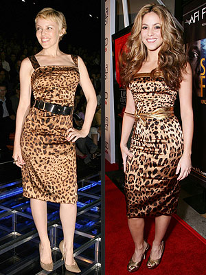 WHO WORE IT BEST: KYLIE MINOGUE OR SHAKIRA