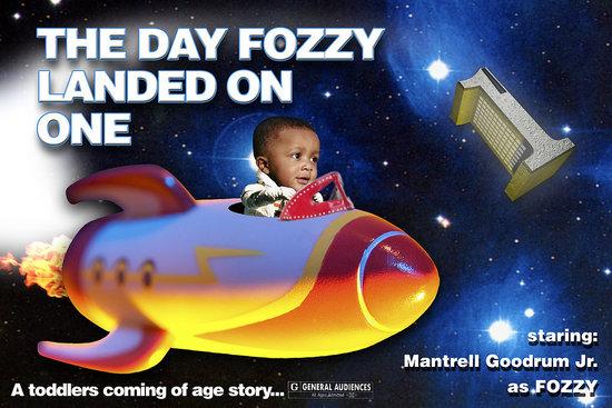 Fozzy's B-Day Invite