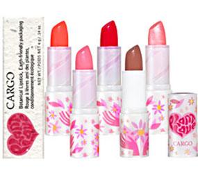 Cargo's Earth Friendly Lipstick