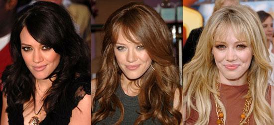 How Do You Prefer Hilary's Hair?