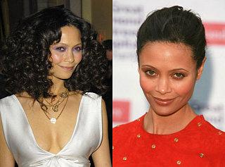Do You Prefer Thandie Newton's Hair Sleek or Curly?