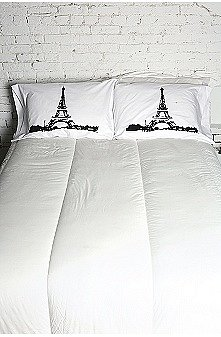 UrbanOutfitters.com > Dreaming of Paris Pillowcase Set
