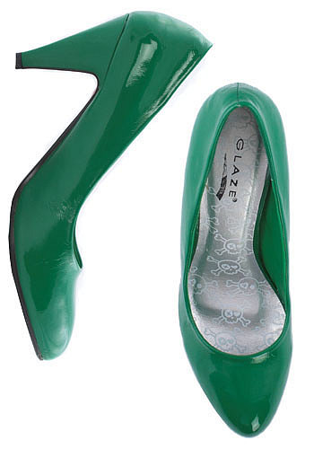 The Kelly Green Pump