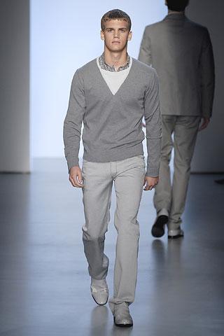 Calvin Klein Spring 2007 Mens Collection