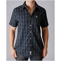 Rok   Lola mens, womens clothing boutique: Penguin, Short Sleeve, Button Down, Top, Mens, Total Plaid