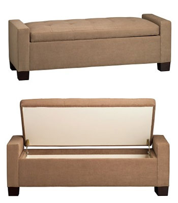 Casa Craving Challenge A Chic Storage Bench Popsugar Home