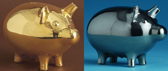 Good, Better, Best: Adult Piggy Banks