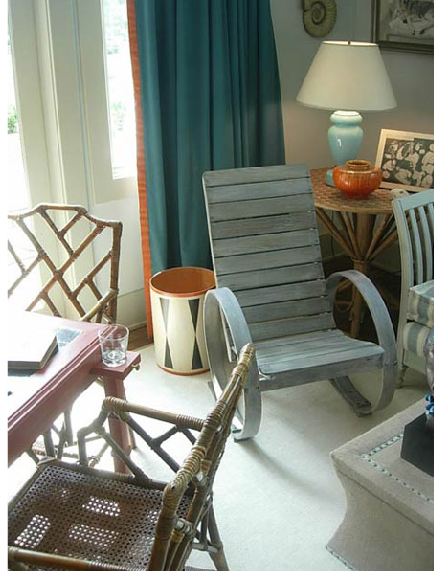 Midday Muse: An Adirondack Chair Indoors