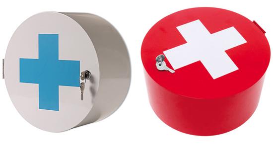Good, Better, Best: Red Cross Medicine Cabinets