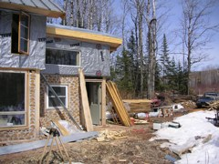 Construction Photos From Ian's House
