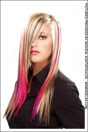 Streek of Pink?