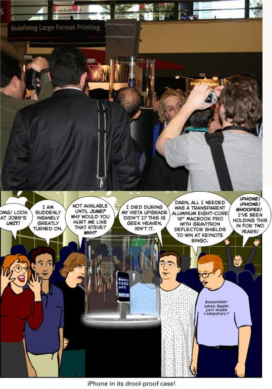 People Going Ga-Ga Over The iPhone