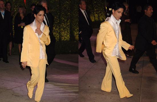 Vanity Fair Oscar Party: Prince