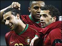 Brazil 0 - 2 Portugal