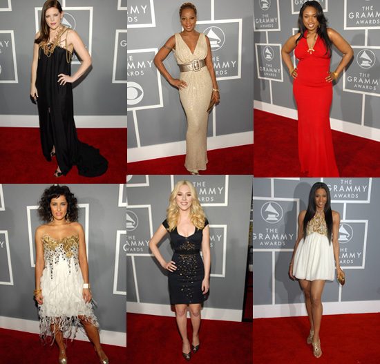 Grammys Red Carpet Trend: All That Glitters is Gold