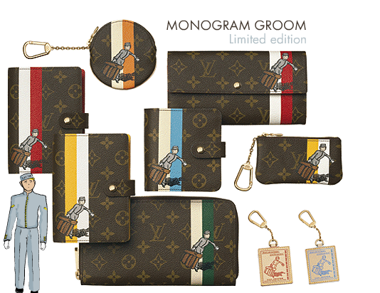 Louis Vuitton's Monogrammed Groom Collection