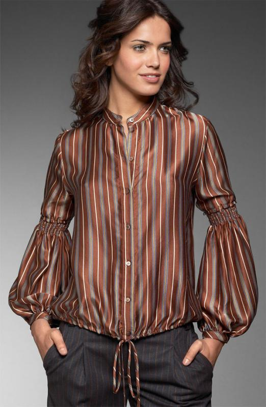 BCBG Max Azria Dandy Stripe Blouse: Love It or Hate It?