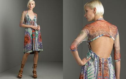 Jean Paul Gaultier Printed Slip Dress: Love It Or Hate It?
