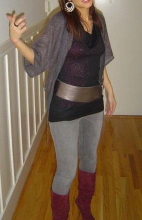 Look of the Day: Cold-Weather Clubbing