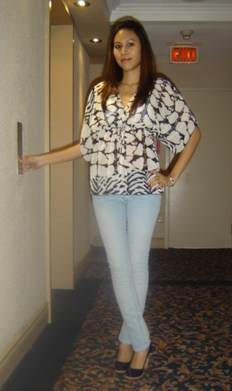 Look of The Day: Skinny Jeans ala Sexy