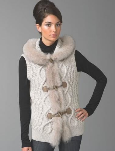 Trend Alert: Fur Vests