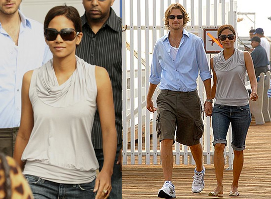 Halle Berry Protests!