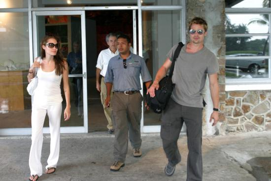 The Jolie-Pitts in Panama