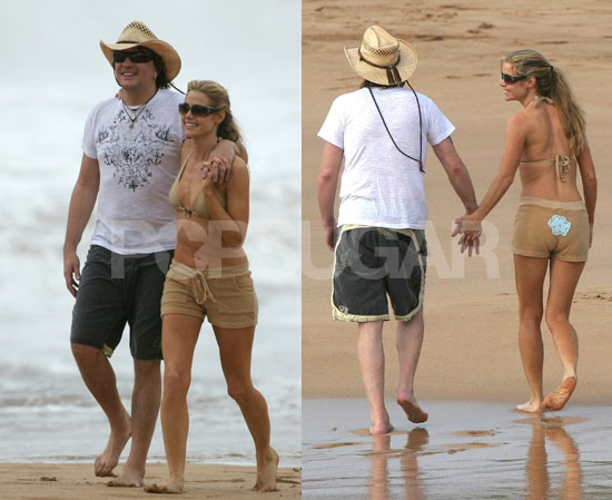 Denise and Richie Enjoy Long Walks on the Beach...