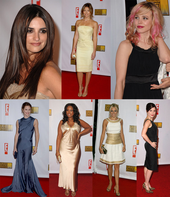 Ladies Glowing in Gold at the Critics' Choice Awards