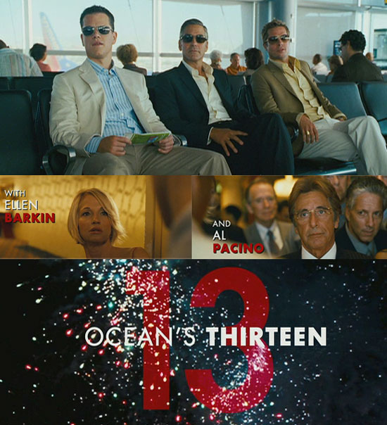 The Boys are Back in Ocean's 13