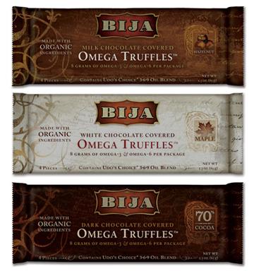 Omega Chocolate Truffles