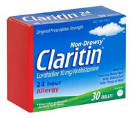 Carded for Claritin?