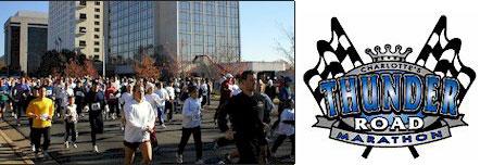 Charlotte's Thunder Road Marathon