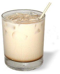 How many calories are in a typical White Russian (4 oz.)?
