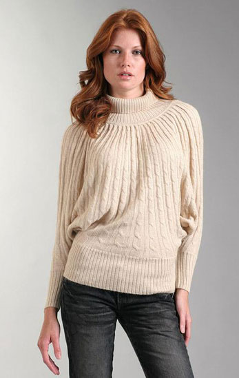 Updated Classic: Cable-Knit Sweaters
