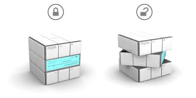 Retro Rubik MP3 Player - Twist and Play