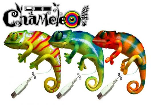 Great Geek Gear Find: Chameleon USB Gadget