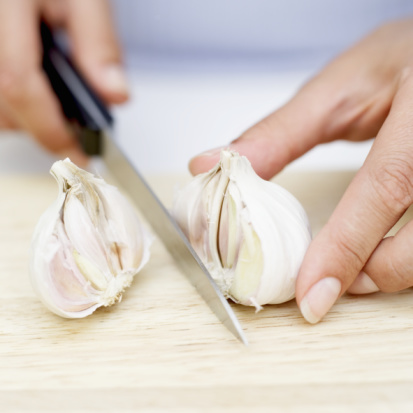Smelly Garlic Hands Be Gone!