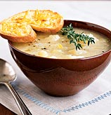 Reader's Recipes: Golden Potato Soup with Cheddar Toasts