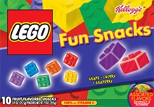 Lego Snacks: Play With Your Food