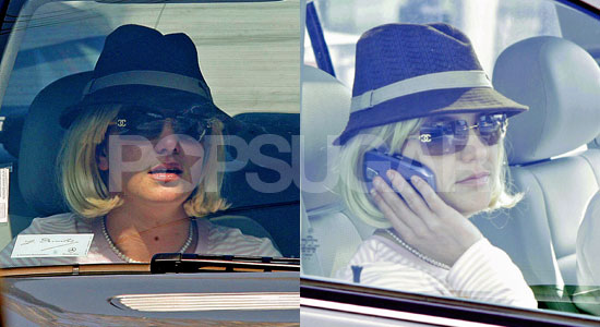 Britney Out of Rehab, Into Legal Counsel's Office