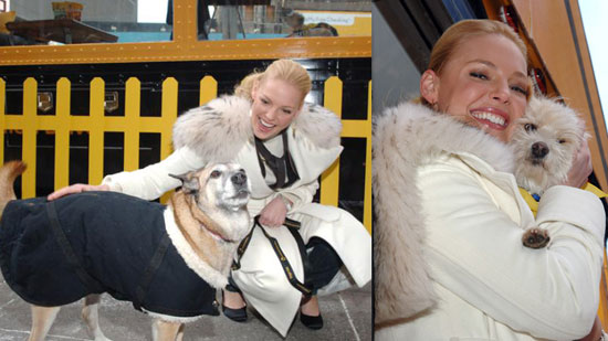 Katherine May Not Be Up to Speed on Faux Fur Debate