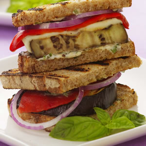Today's Special: Eggplant Sandwiches