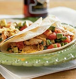 Today's Special: Soft Chicken Tacos